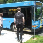 Students can take Ride On and Metrobus for free again