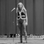 Freshman Talia Brenner wins second annual Poetry Out Loud contest
