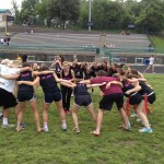Senior girls defeat junior girls 28-7 in Powderpuff football game