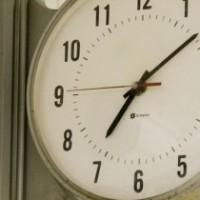 School clock.