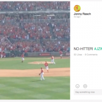 Senior Jonny Rasch's vine of Nationals P Jordan Zimmerman became widely used by sports media outlets.