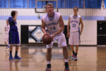 Forward Anton Casey prepares to take a free throw in the playoff game against Churchill Saturday. Photo by Jonah Rosen.