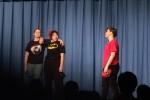 """Romeo, Mercutio and Benvolio in a scene from """"Romeo and Juliet."""" Photo courtesy Becca Haven."""