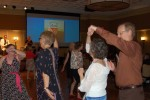 Activities at the reunion included dancing. Photo by Camryn Dahl.