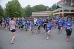 "Runners prepare to run in the ""Hope for Henry"" 5K last Sunday. Photo by Allen Goldberg."