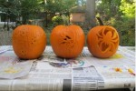 Pinterest vs. reality: pumpkin carving
