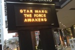 The new Star Wars movie debuted this week, bringing in record proceeds on opening day. Photo by Grace O'Leary.