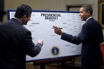 Even President Obama participates in the bracket-crazed event that is March Madness. Photo courtesy of Wikimedia.
