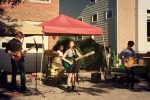 ROADTRIP performed at a neighborhood block party earlier this year. Tomorrow night, they'll compete in the Montgomery County's Got Talent finals at the Fillmore. Photo courtesy Lisa Ginns.