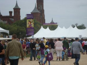The annual National Book Festival drew many readers across the area. Photo by James Dionne.